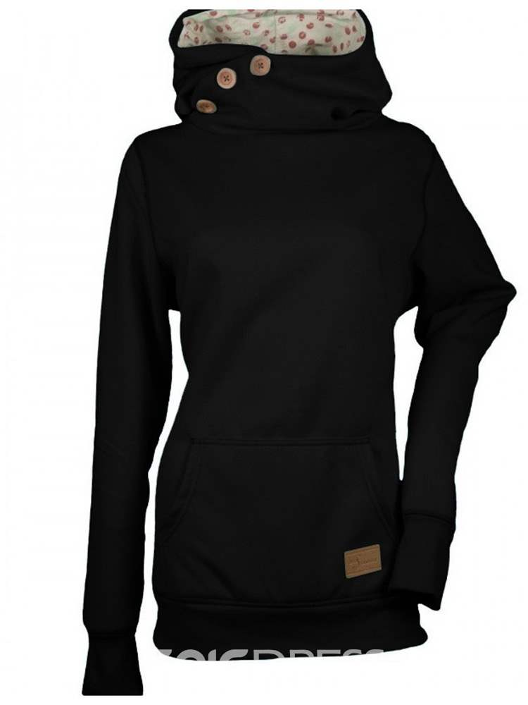 Ericdress Regular Long Sleeve Standard Hoodie