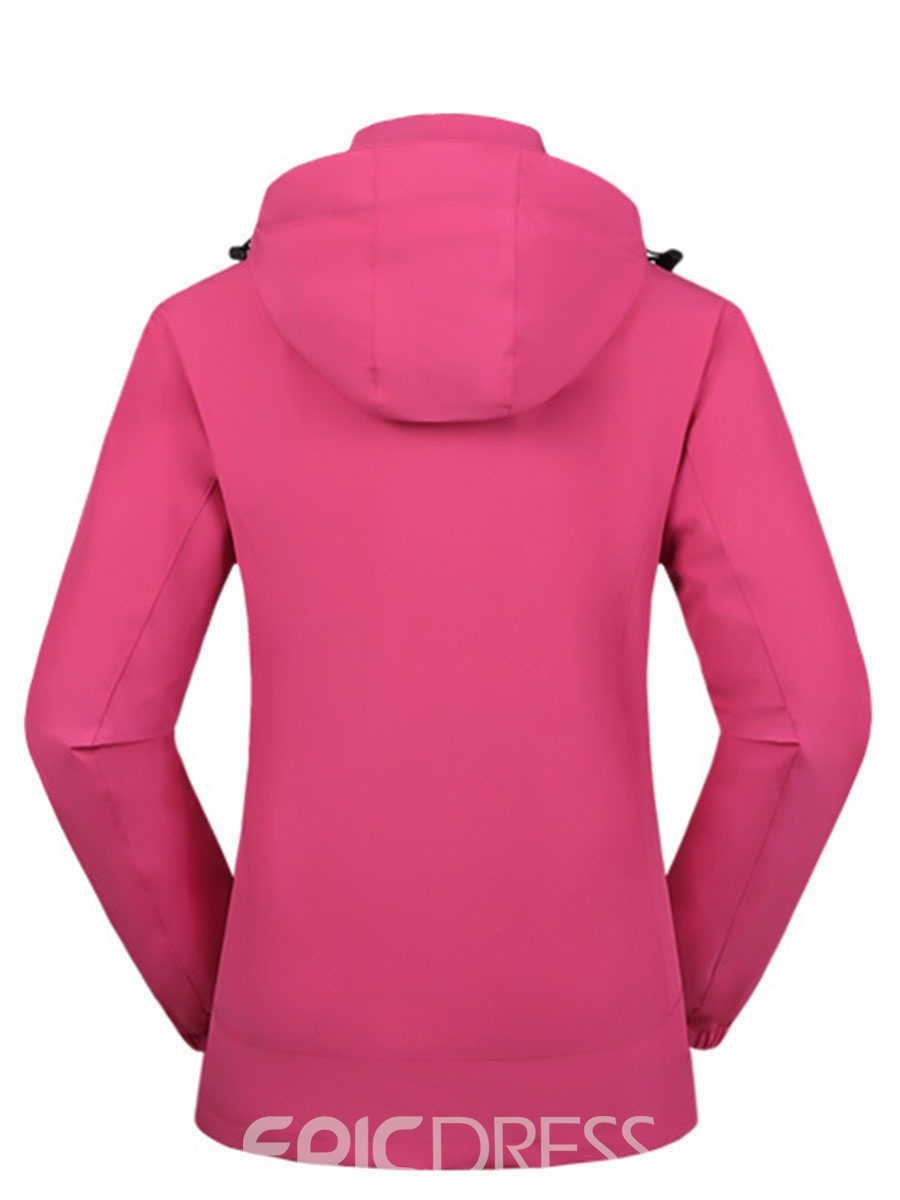 Ericdress Polyester Anti-Friction Climbing Solid Female Tops