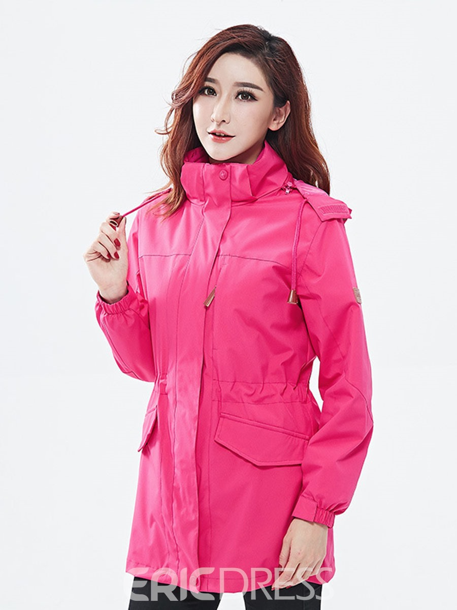 Ericdress Polyester Cycling Pockets UV Protection Solid Unisex Tops