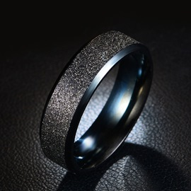 Ericdress Titanium Steel Ring