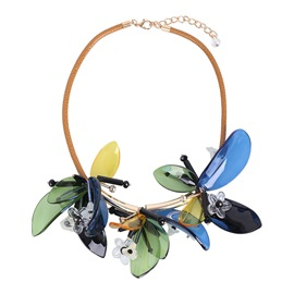 Ericdress Summer Retro Flower Necklace