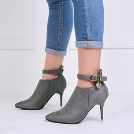 Ericdress Simple Sweet High Heel Boots