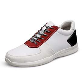 Ericdress Color Block Lace-Up Men's Skate Shoes