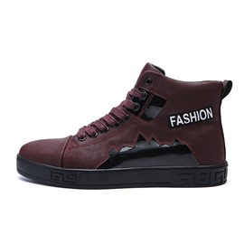 Ericdress Patchwork High-Cut Upper Men's Skate Shoes