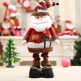 Ericdress Christmas Supplies Small Christmas Stretch Standing Snowman Doll