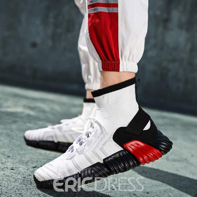 Ericdress High-Cut Upper Lace-Up Men's Sneakers