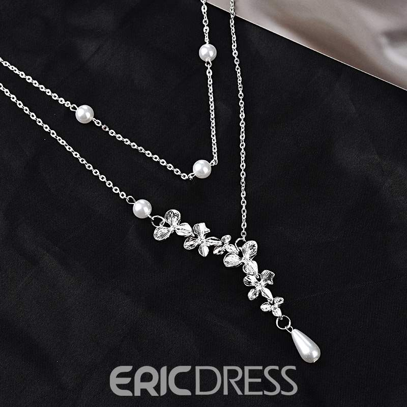 Ericdress Flower Necklace Charm Necklace
