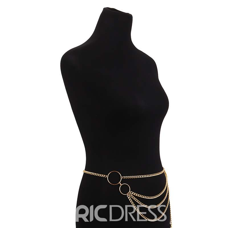 Ericdress Golden Sexy Waist Chain