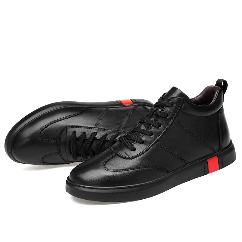 Ericdress Lace-Up Mid-Cut Upper Men's Skate Shoes