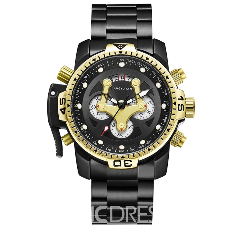 Ericdress Casual Stainless Steel Men's Watch