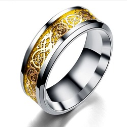 Ericdress Golden Stainless Steel Rings фото