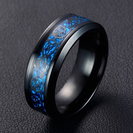 Ericdress Men Stainless Steel Rings
