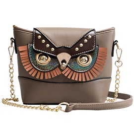 Ericdress Western PU Animal Crossbody Bags