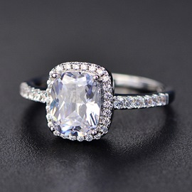 Ericdress Fashion Zircon Ring