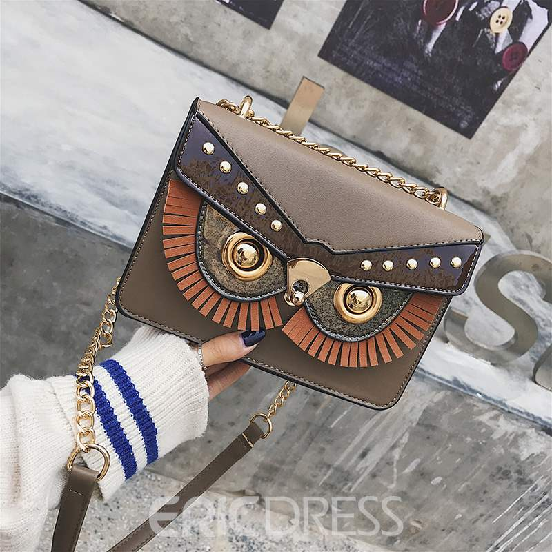 Ericdress PU Thread Envelope Crossbody Bags