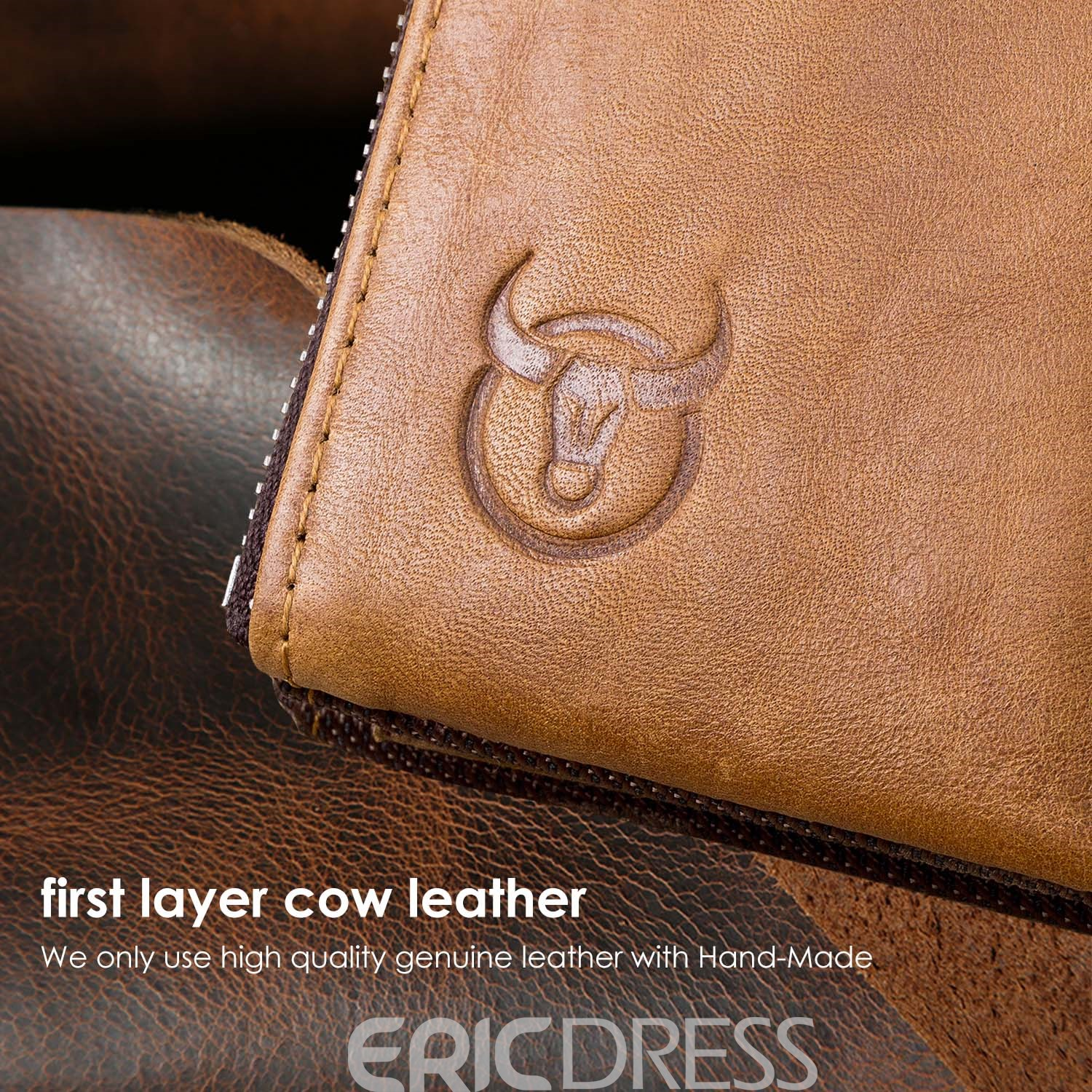 Ericdress European Organizer Wallet Leather Wallets