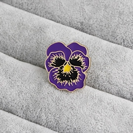 ericdress broches en alliage de fleurs