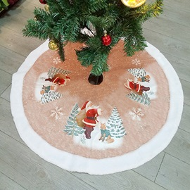Ericdress Christmas Tree Ornament Mat Gift