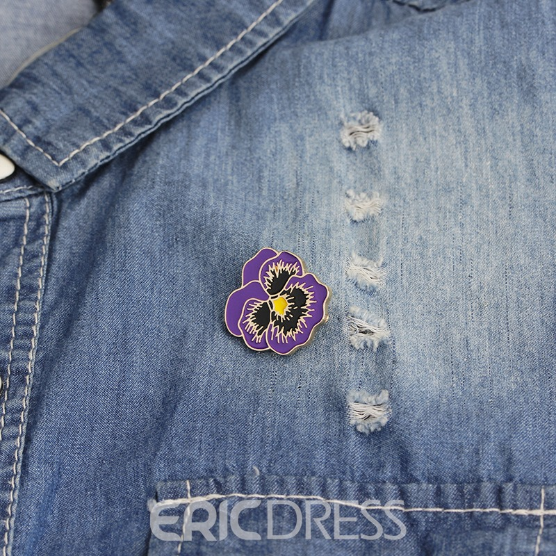 Ericdress Alloy Flower Brooches