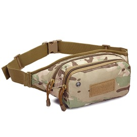 Ericdress Unisex Oxford Waist Bag Army Men's Fanny Bags