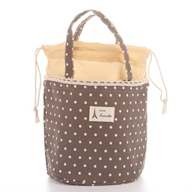 Ericdress Print Casual Polka Dots Lunch Bags