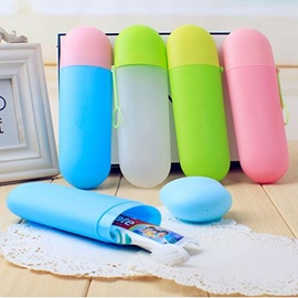 Ericdress Portable Toothbrush Storage Box