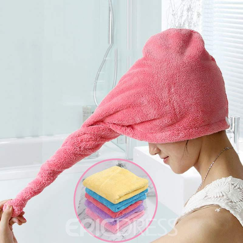 Ericdress Bath Water Absorption Hair Drying Towel