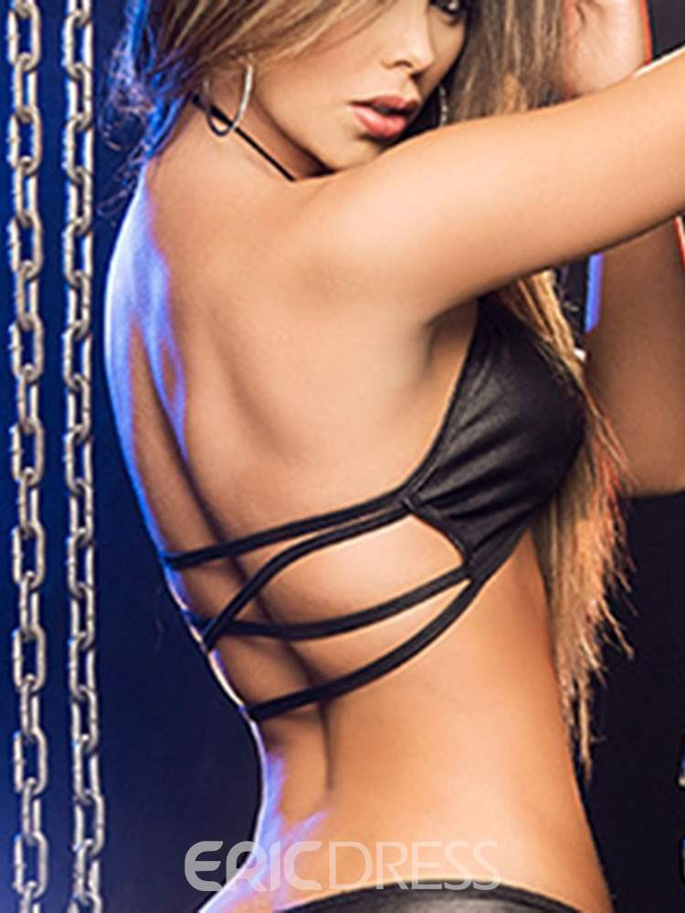 Ericdress Pole Dance Plain Lace-Up Sexy Nightclub Wear