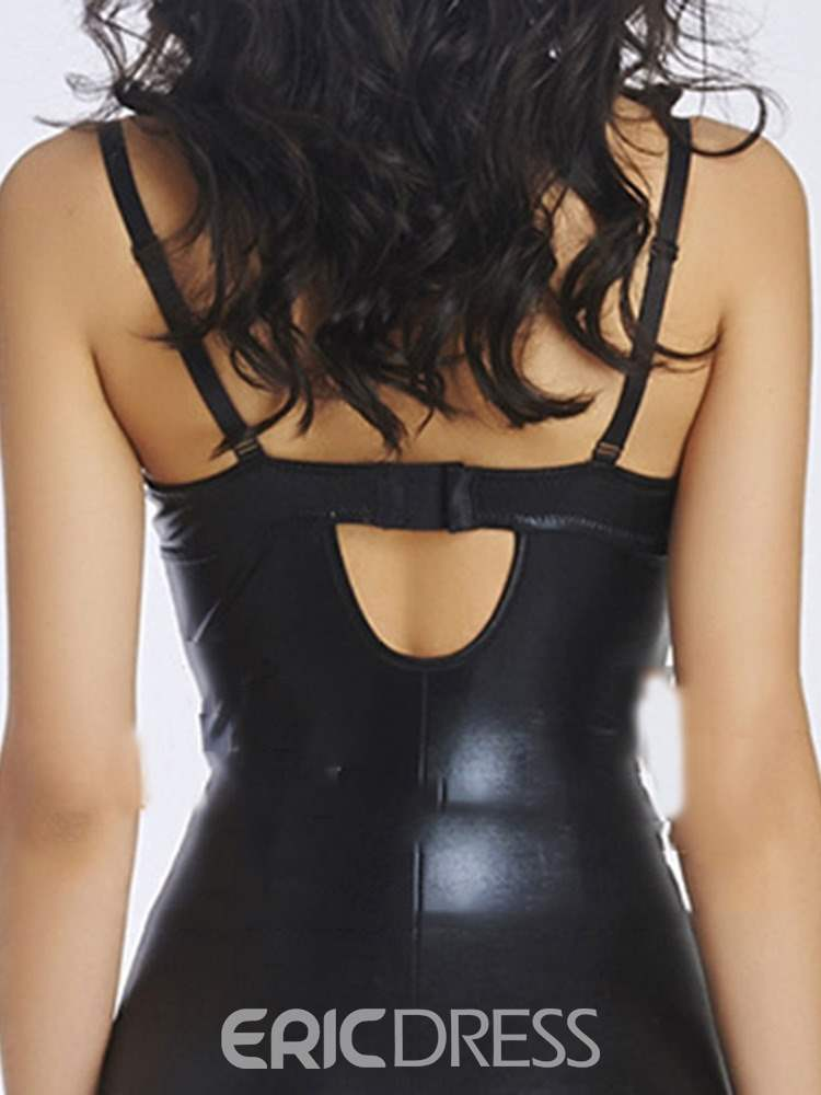 Ericdress Zipper See-Through Tight Wrap Chemise