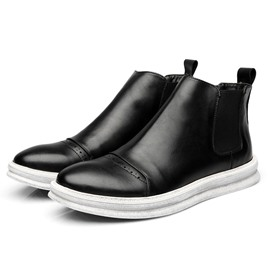 Ericdress Patchwork Round Toe Elastic Men's Casual Boots