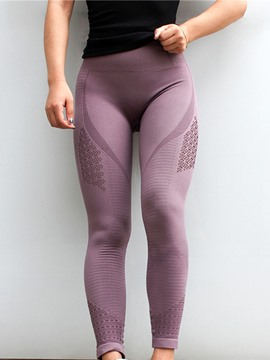 Leggings largos de nylon de tenis de secado rápido ericdress