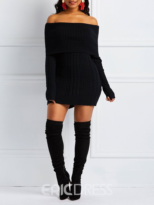 Ericdress Regular Straight Mid-Length Sweater