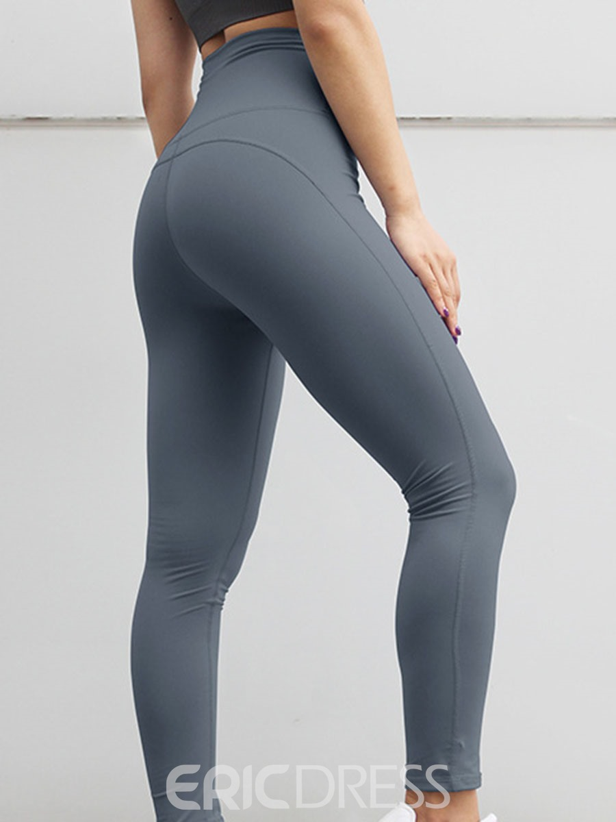 Ericdress Solid Anti-Sweat Nylon Street Dance Female Leggings