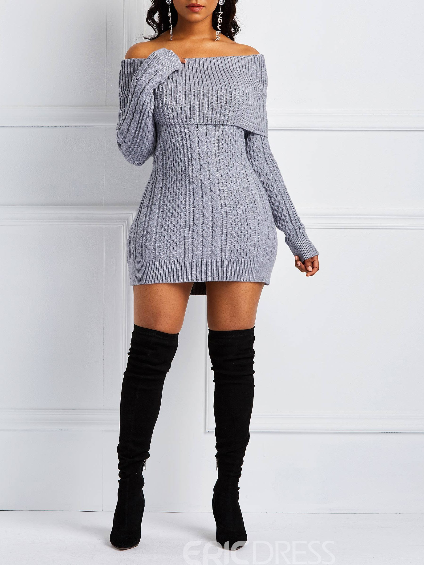 Regular Straight Mid-Length Sweater