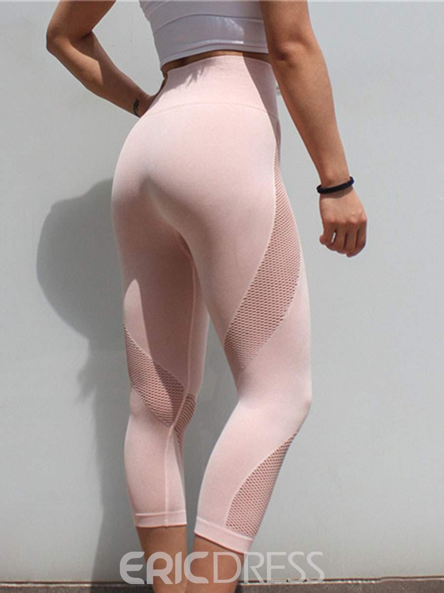 Ericdress Patchwork Breathable Mid-Calf Leggings for Women