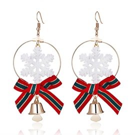 Ericdress Christmas Style Bell Earrings