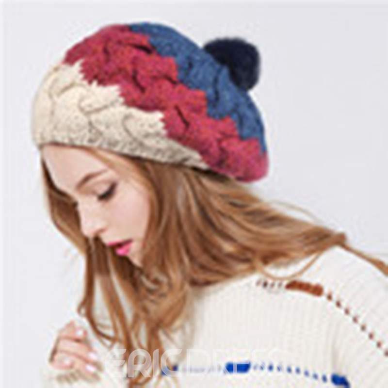 Ericdress Colours Plush Women Hat