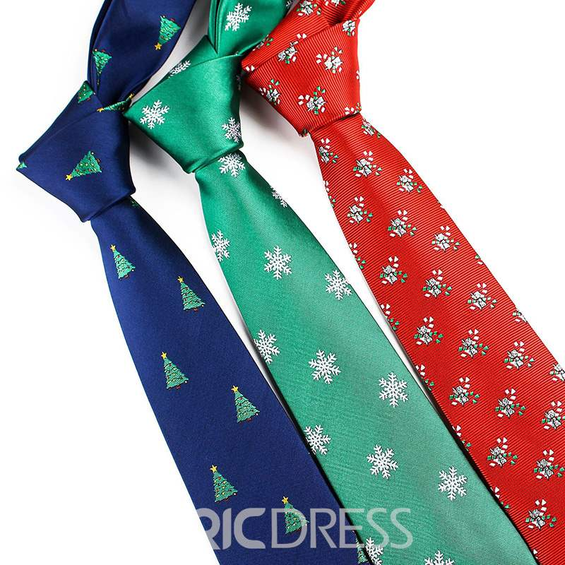 Ericdress Christmas Trees Tie