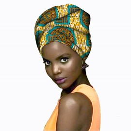 Ericdress African Style Cotton Printing Headband Hair Accessories