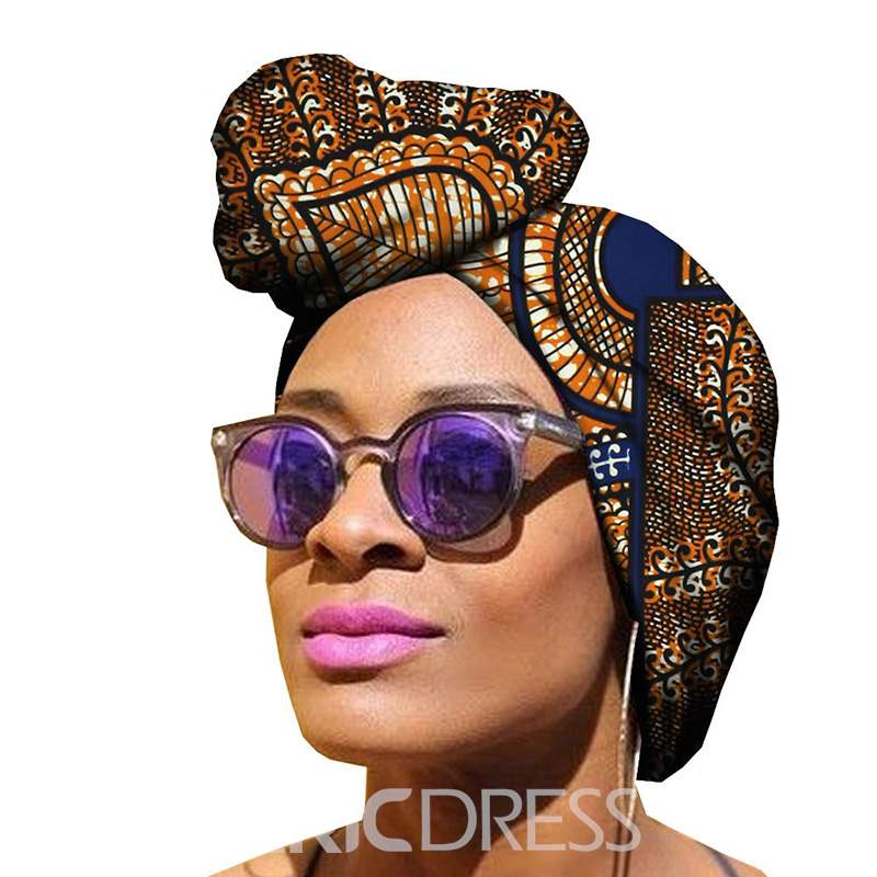 Ericdress African Printed Cotton Headband Hair Accessories