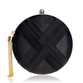 Ericdress Circular Velour Banquet Clutches & Evening Bags