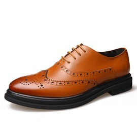 Ericdress Lace-Up Low-Cut Upper Men's Oxfords
