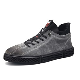 Ericdress Lace-Up Mid-Cut UpperMen's Skate Shoes
