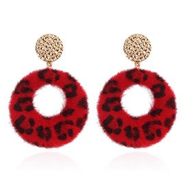 Ericdress Leopard Print Winter Party Earrings