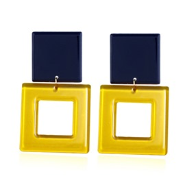 Ericdress Colorful Acrylic Earrings
