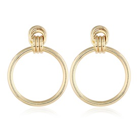 Ericdress Hoop Alloy Party Earrings