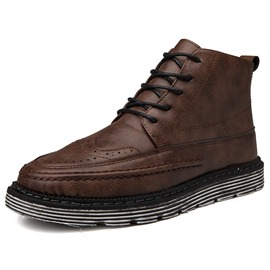 Ericdress PU Round Toe Men's Winter Boots