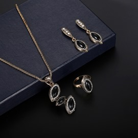 Ericdress Diamante Alloy Gems Jewelry Sets