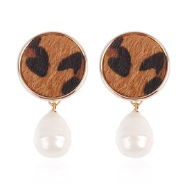 Ericdress Leopard Alloy Engagement Earrings