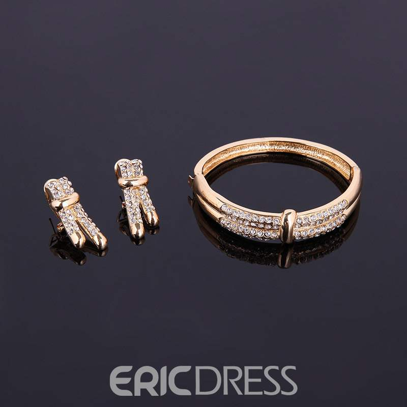 Ericdress Diamante Ring Jewelry Sets